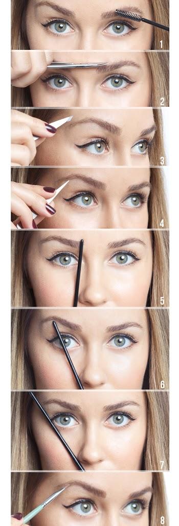 perfecte-wenkbrauwen-stylen HOWTO: de perfecte brow!