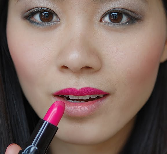 stap-drie-lipstick-hotpink-my-huong-ombre-lips Foto Tutorial: Ombre Lips!