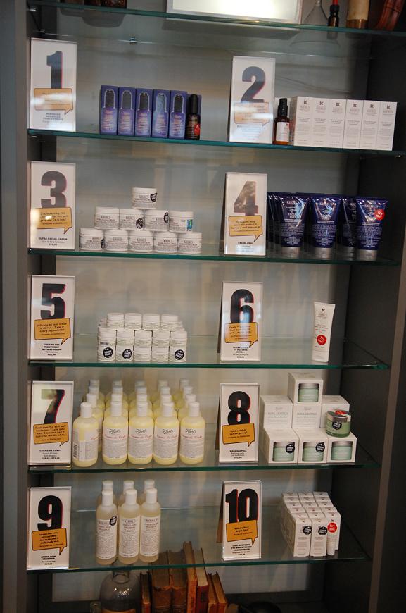 Kiehls-Shop-Musthaves-top-10 Een bezoekje aan de Kiehl's shop in Amsterdam