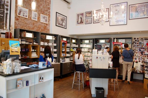 Kiehls-shop-hobbemanstraat-6-amsterdam Een bezoekje aan de Kiehl's shop in Amsterdam