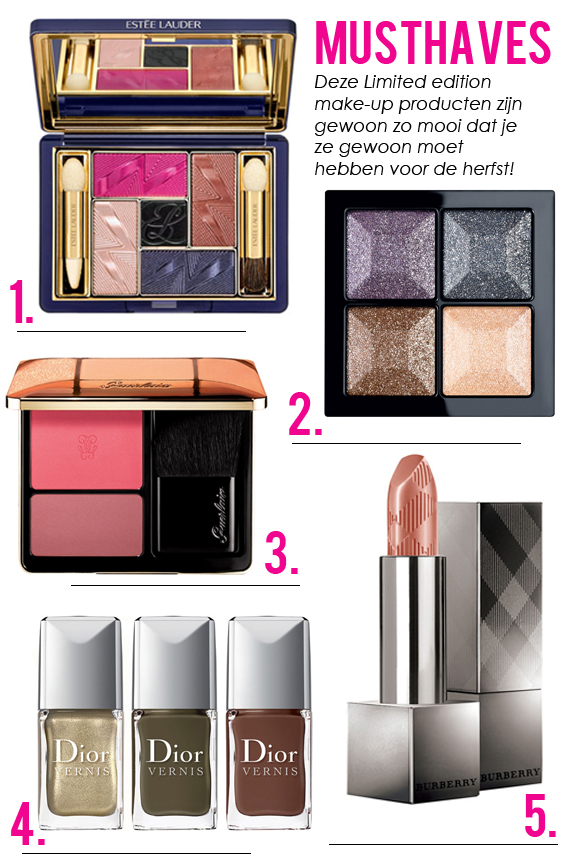 Limited-edition-Make-up Musthave: Make-up herfst 2012