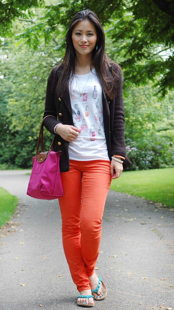 My-huong-maison-scotch-diesel-longchamp-outfit5 Look of today: casual summer outfit