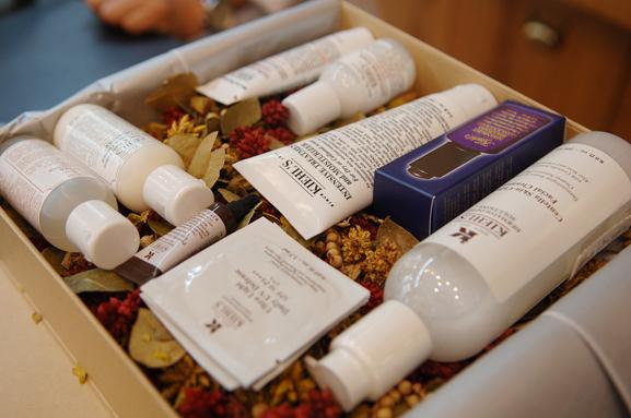 kiehls-shop-verpakkingen Een bezoekje aan de Kiehl's shop in Amsterdam