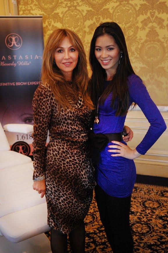 Anastasia-brow-expert-guru-and-My-huong EVENT: Anastasia 'wenkbrauw guru' presenteert haar make-up collectie