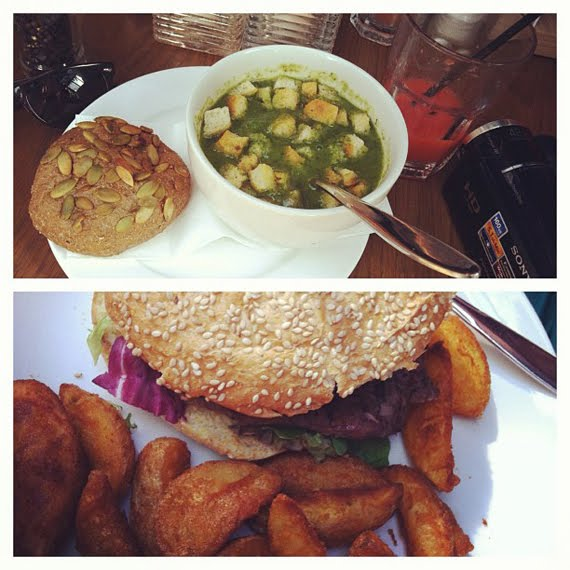 Lunch-bij-Esprit-Cafe-Amsterdam Diary: My life in Instagram pic's