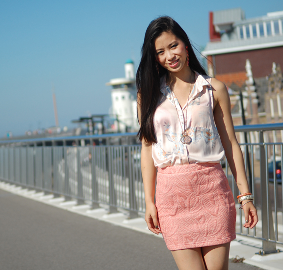 avatar-my-huong-outfit-look Outfit Go peachy