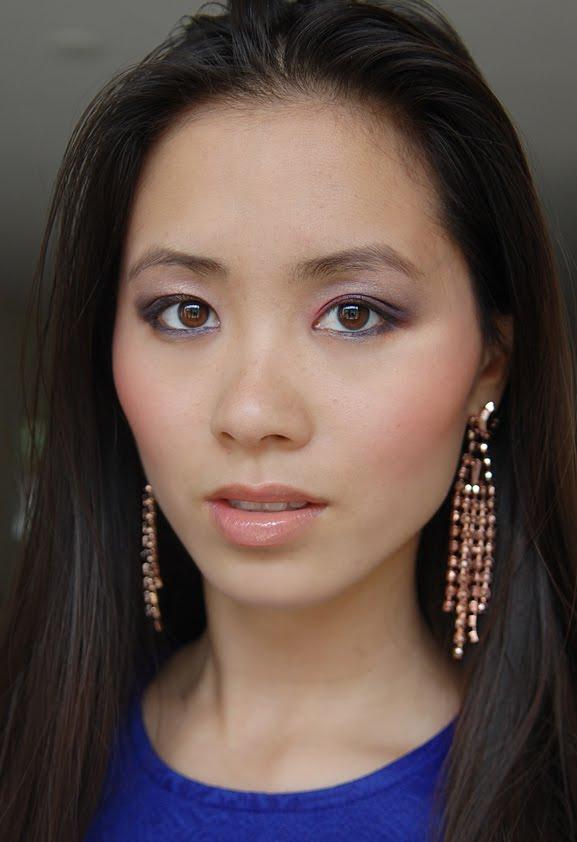 look-sisley-blush-estee-lauder-eyelook Estée Lauder Violet Underground look 2012