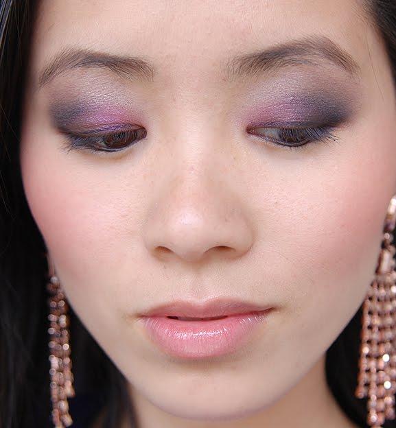 my-huong-eyeshadow-look-pure-color-violet-underground-estee-lauder-cyber-metallic Estée Lauder Violet Underground look 2012