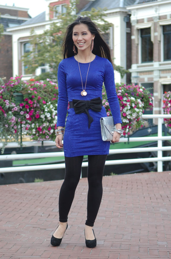my-huong-outfit-look-fashion-dress Outfit: The blue dress