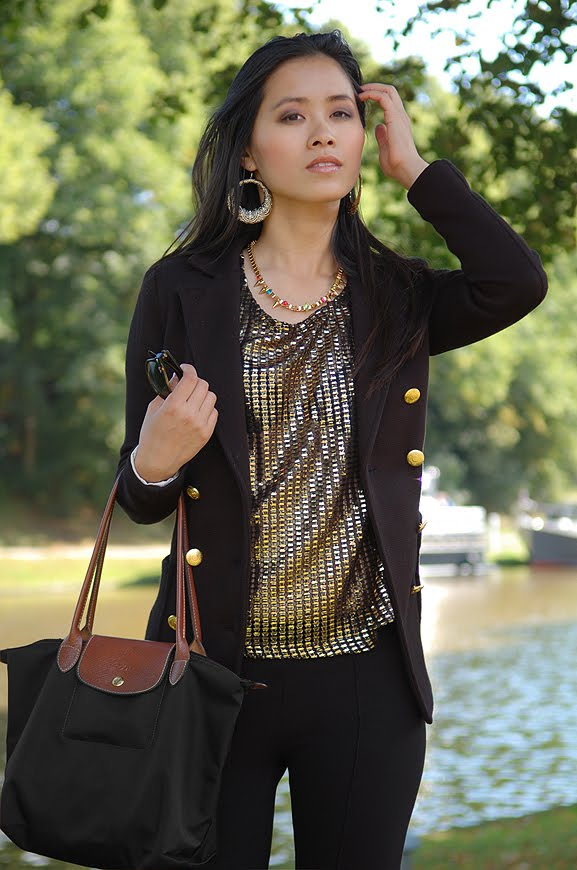 my-huong-outfit-prinsentuin-longchamp-zwart-my-huong Outfit: Black vs. Gold