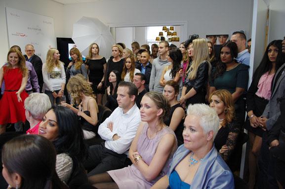 1-holland-best-make-up-artist-finale-cocktail-dress EVENT: Holland Best Make-up Artist 2012 finale