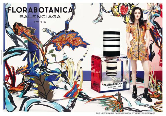 Campagne-poster-Flacon-Florabotanica-balenciaga-parfum Florabotanica Balenciaga