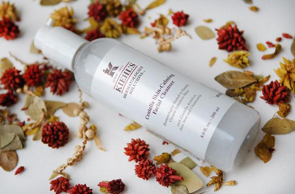 Kiehls-Centella-skin-calming-facial-cleanser Kiehl's huidverzorging voor de winter!