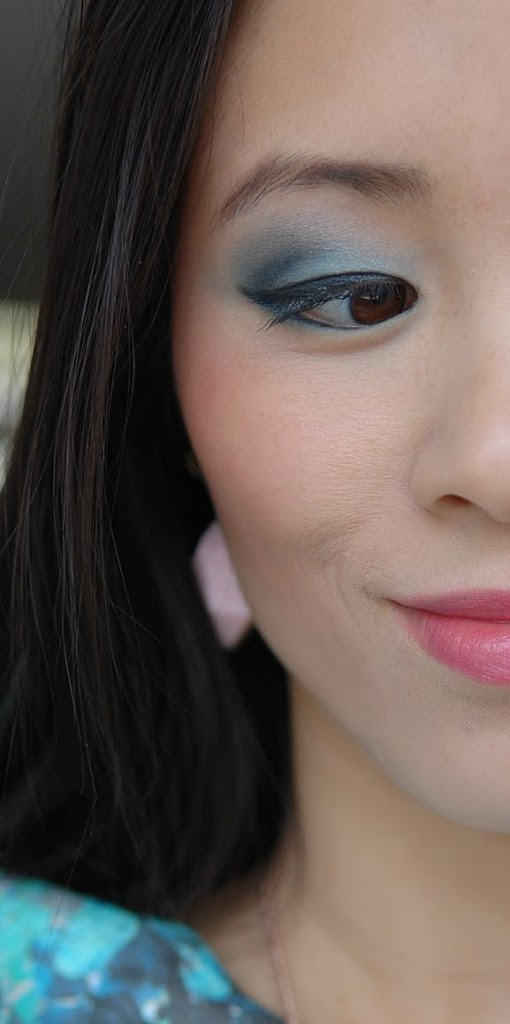 My-Huong-pastel-face-look Face of the day: pastel groen met blauw