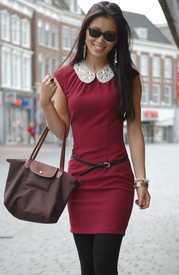 my-huong-lookfotos-picture-my-huong Outfit: Style in Burgundy