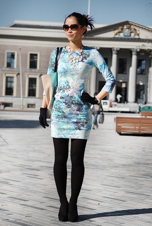 my-huong-pastel-kleur-look-outfit-hm-fab-pumps-zwart-leeuwarden-zaailan Outfit: pastel flower love