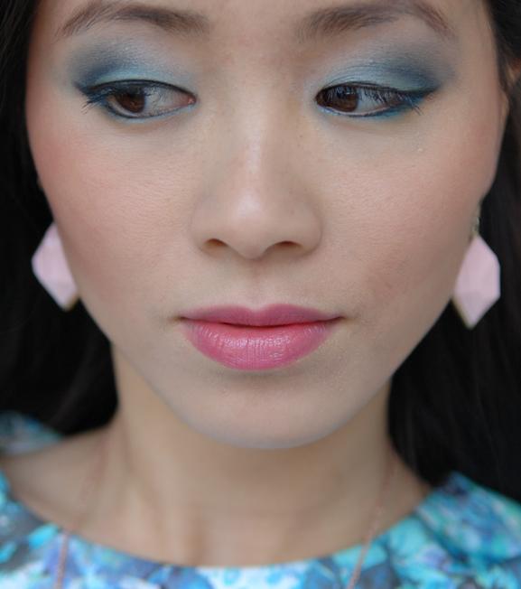 my-huong-pastelooglook-groen Face of the day: pastel groen met blauw