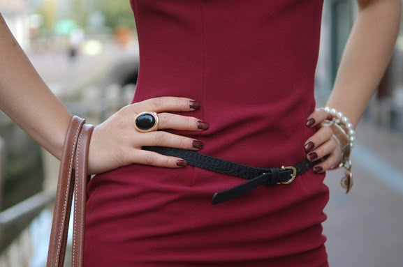 outfit-look-herfst-outfit-hm-bordeaux-rood Outfit: Style in Burgundy
