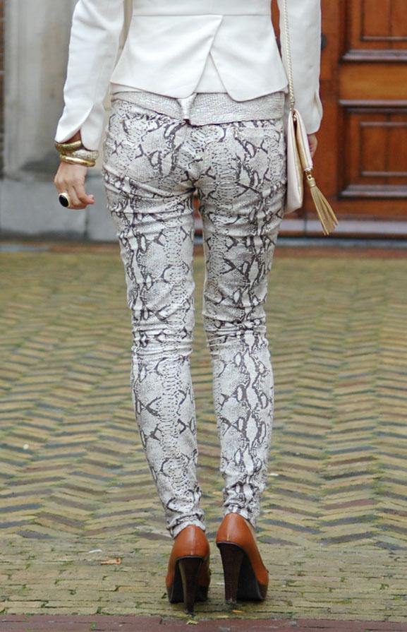 slangenprint-broek-look-outfit Outfit: The golden snake look