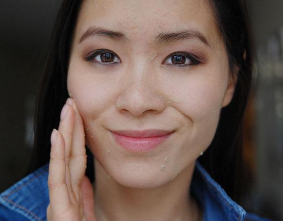 Ginvera-Gren-tea-Exfoliating-marvel-gel-cleansing-face-my-huong Ginvera Green Tea Skincare