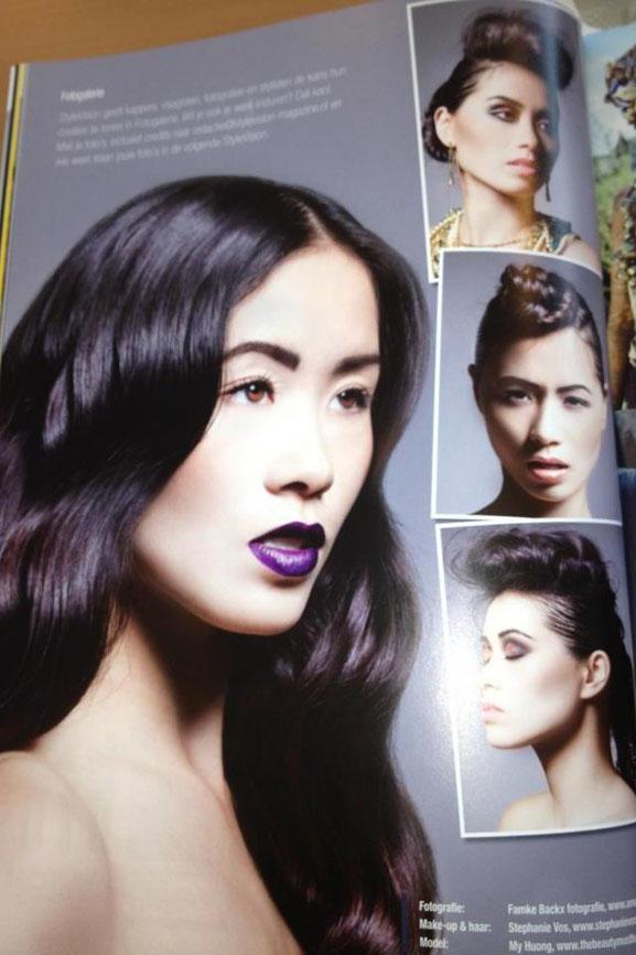 Publicatie-stylevision-Stephanie-Vos-Famke-Backx-My-Huong-model-beauty-classy Foto's: Classy beauty