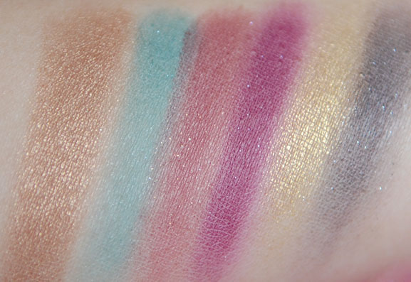 Sleek-make-up-limited-edition-swatches-deel-1 Sleek Sparkle 2 review