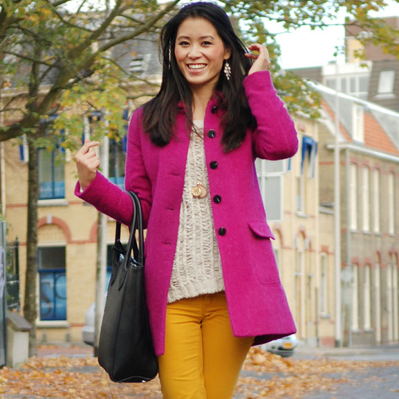 my-huong-avatar-look-face Outfit: colorblocking autumn