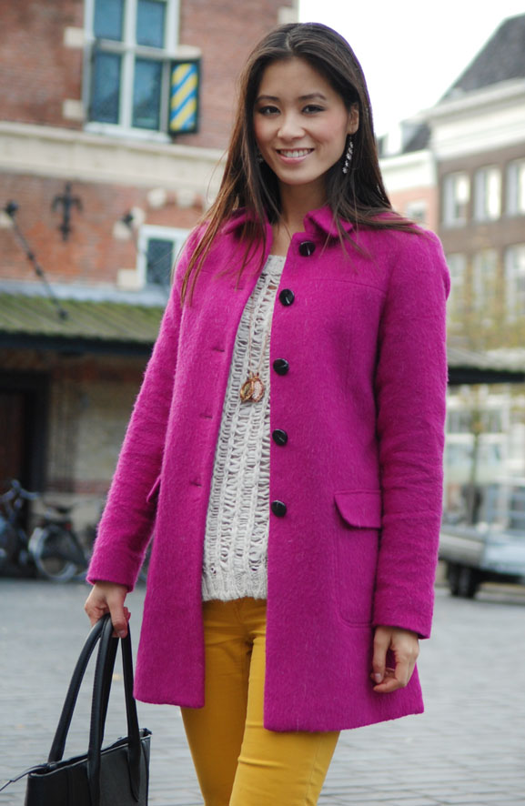 my-huong-look-functie Outfit: colorblocking autumn
