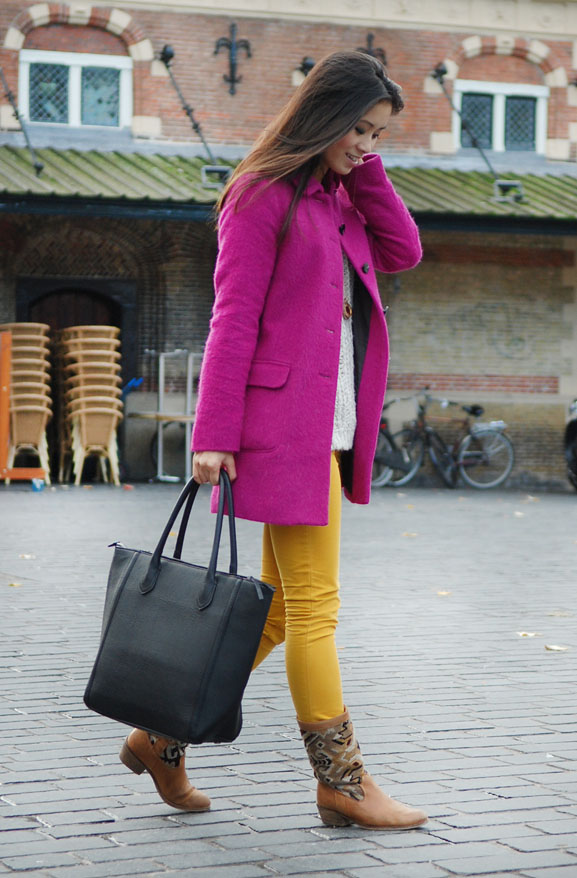 my-huong-look-outfit-fashion-blogger Outfit: colorblocking autumn