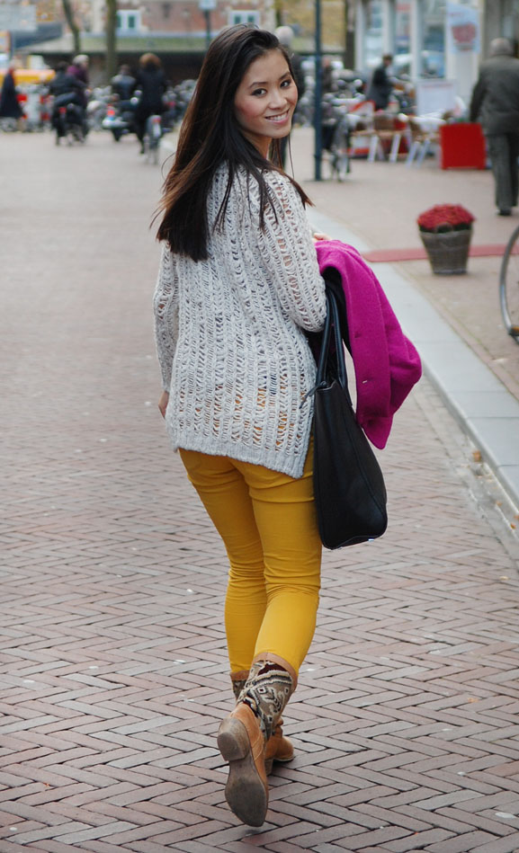 my-huong-outfit-look-leeuwarden-fashion-kleding-herfst-hm Outfit: colorblocking autumn