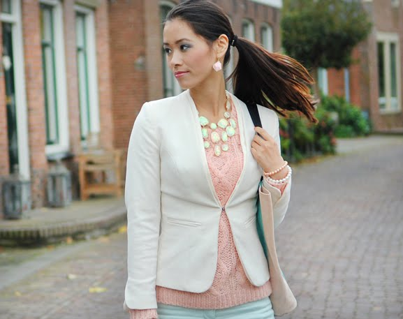 my-huong-pastel-outfit-look-of-the-day OUTFIT: pastel green vs.pink