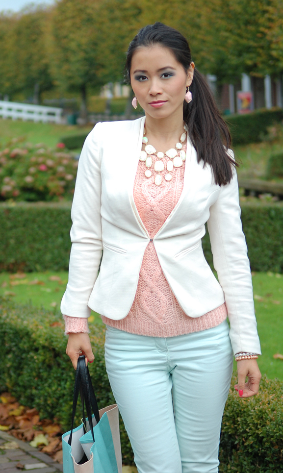 my-huong-pastel-print-outfit-combineren-look OUTFIT: pastel green vs.pink