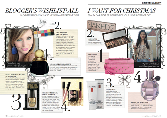 Bloggers-christmas-all-I-want-for-christmas-My-HUong-glossybox-international-magazine The Beauty Musthaves in the Glossybox magazine