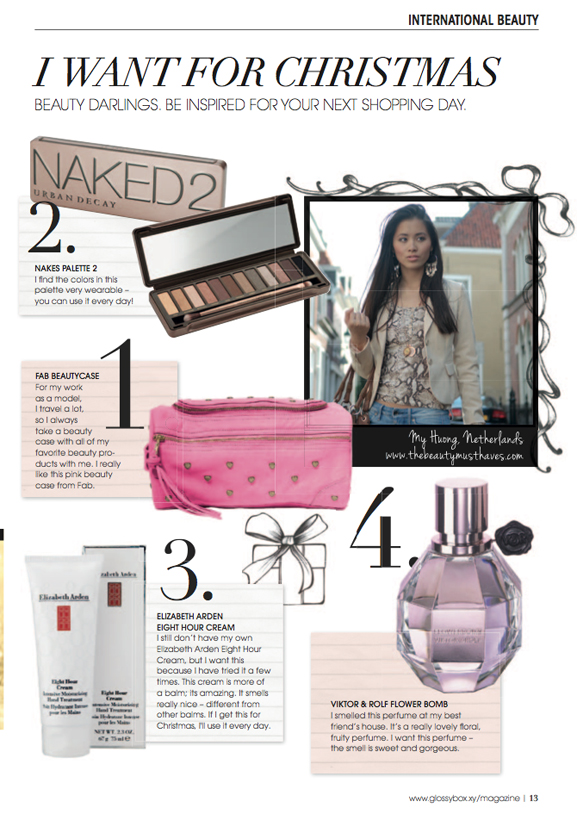 my-huong-christmas-gift-international-beauty The Beauty Musthaves in the Glossybox magazine