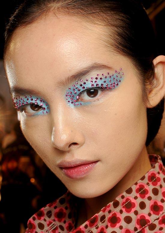 3d-makeup-dior-spring-2013 TREND: Runway Make-up Dior 2013