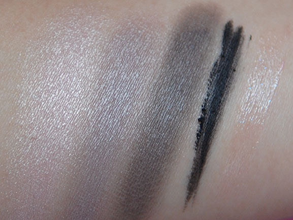Swatches-cherie-bow-dior-Palette Follow up: Dior Cherie Bow Spring 2013 + look