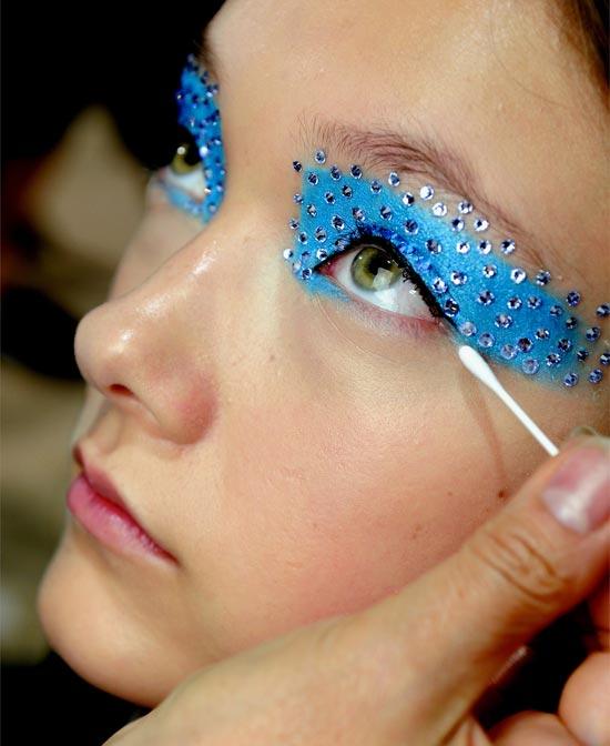 dior-spring-2013-rhinestone-beauty-look TREND: Runway Make-up Dior 2013