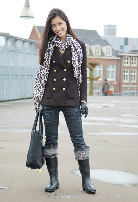 my-huong-outfit-hunters-combineren-boots-regenlaarzen VIDEO: Outfit rain boots hunters