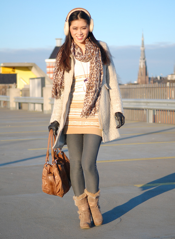my-huong-outfit-look-winter-oorwarmers-uggs Outfit: Comfi winter look