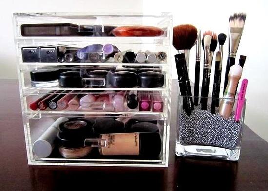 Make-up-organizer-5 Make-up stash organiseren