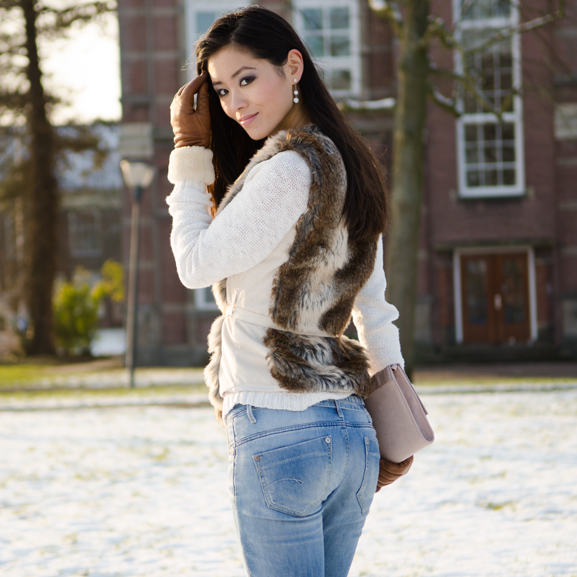 My-Huong-Outfit-Faux-Fur-Outfit-look Outfit: Faux Fur