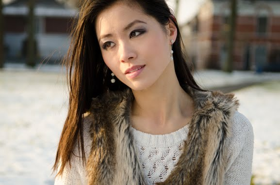 My-Huong-Outfit-Faux-Fur-Winter-Cold-Snow Outfit: Faux Fur