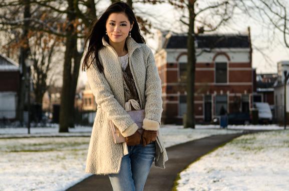 My-Huong-faux-fur-winter-glow-snow Outfit: Faux Fur