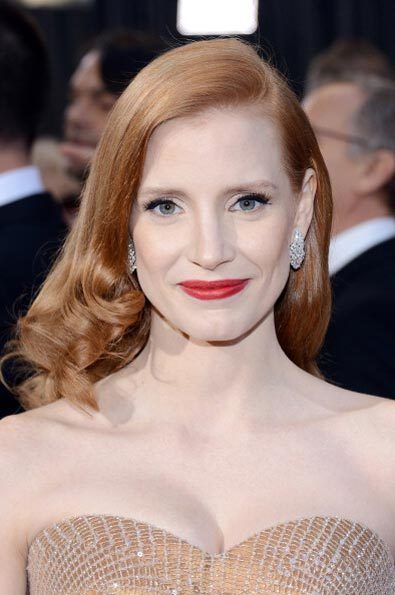 best_red_lip_jessica_chastain_18iljq2-18iljqc-Oscar Oscars 2013 Beauty Looks