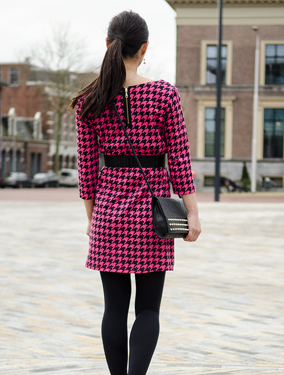my-Huong-look-outfit-miss-cherie-dior-back-dress-pink-black Outfit: Miss Cherie pink!