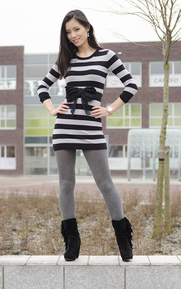 my-huong-outfit-hippe-schoenen-suede-black-boots The Bajes Look