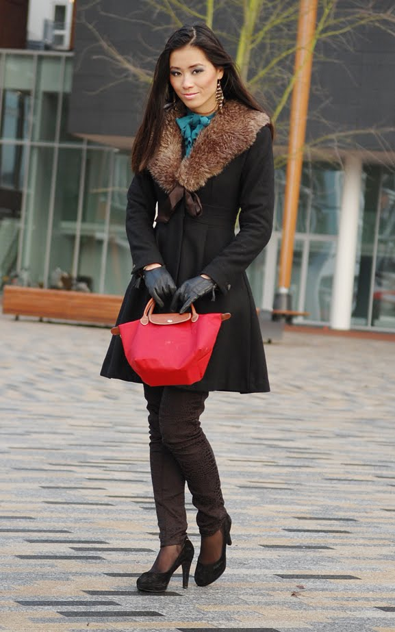 my-huong-outfit-look-face-longchamp-black Outfit: Deepblue chique