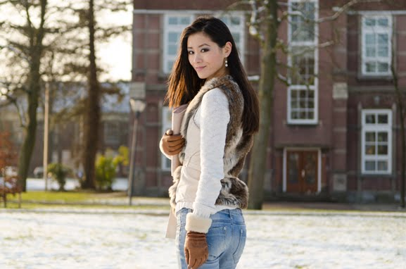 my-huong-outfit-look-faux-fur-leeuwarden-sneeuw-snow Outfit: Faux Fur