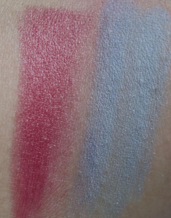 swatch-collistar-lipstick-Ombretto-azzuro Collistar 30 jaar Anniversary Make-up Collection