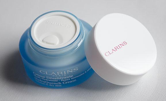 Clarins-Cream-Dry-to-normal-skin Clarins Gentle eye make-up reiniger en Crème Désaltérante
